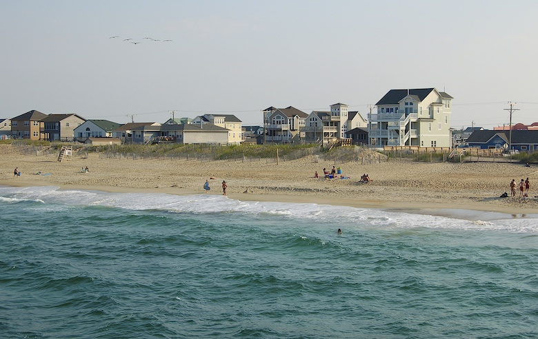 Nags Head Beach, Outer Banks,