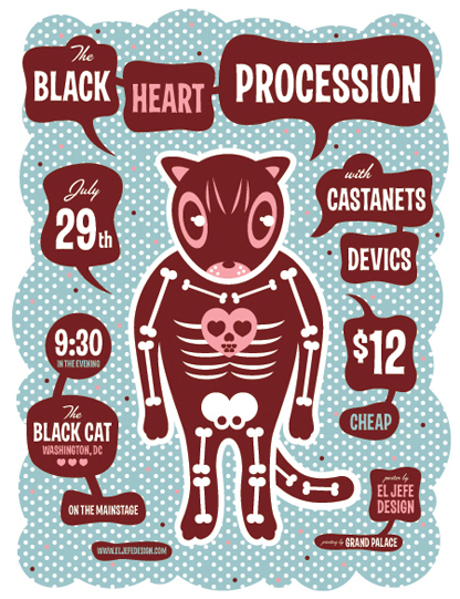 Black Heart Procession Poster