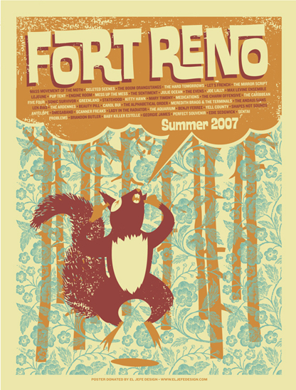 Fort Reno poster