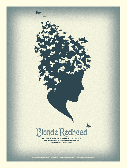 Blonde Redhead Poster