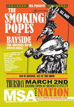 Smoking Popes flyer